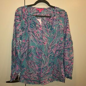 NWT Lilly Pulitzer Winsley Top